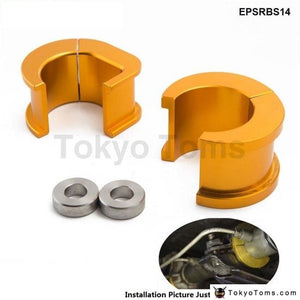 Epman Racing Aluminium Offset Steering Rack Bushes For Nissan Silvia S14 S15 200Sx Epsrbs14