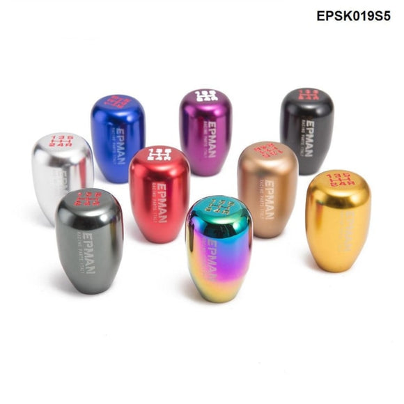 Epman Sport Universal Racing 5 Speed Car Gear Shift Knob Manual Automatic Shift Lever Epsk019S5