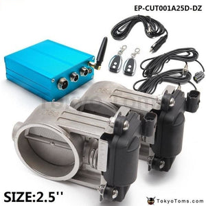 Exhaust Control Valve Dual Set W Remote Cutout Control For 2 5