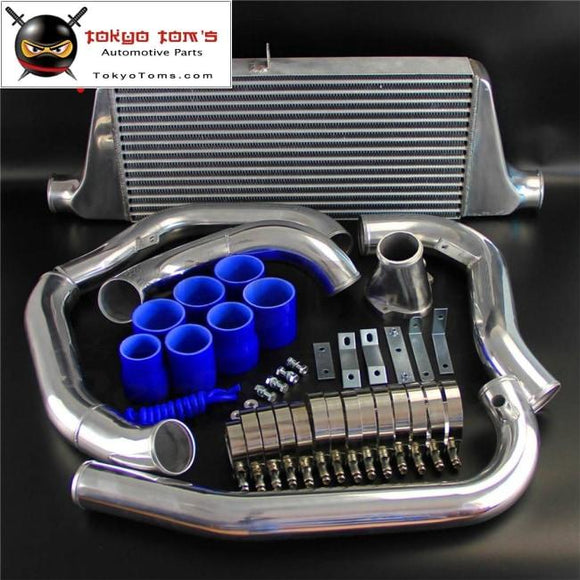 Fits For Mazda Rx7 Fc Fc3S 13B Fmic Intercooler Kit Single Turbo 300-700Hp 86-91 Blue/red/black Kits