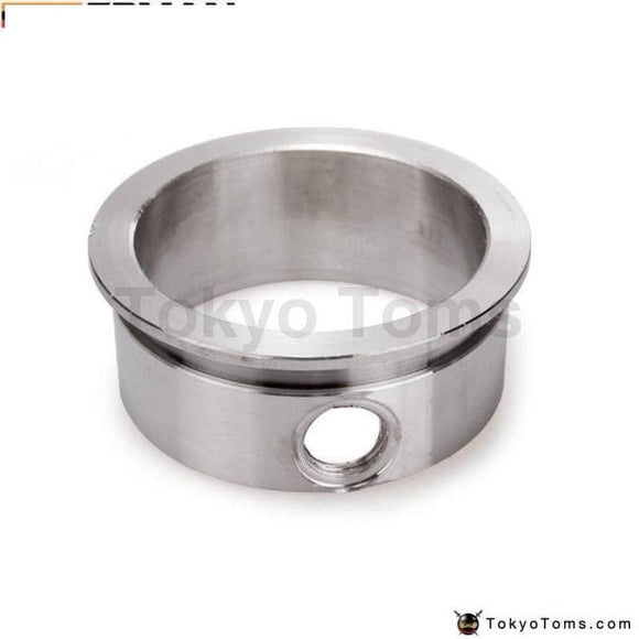 Flange 3 V-Band With Integrated O2 Bung Port Stainless Steel Wideband Turbo Parts