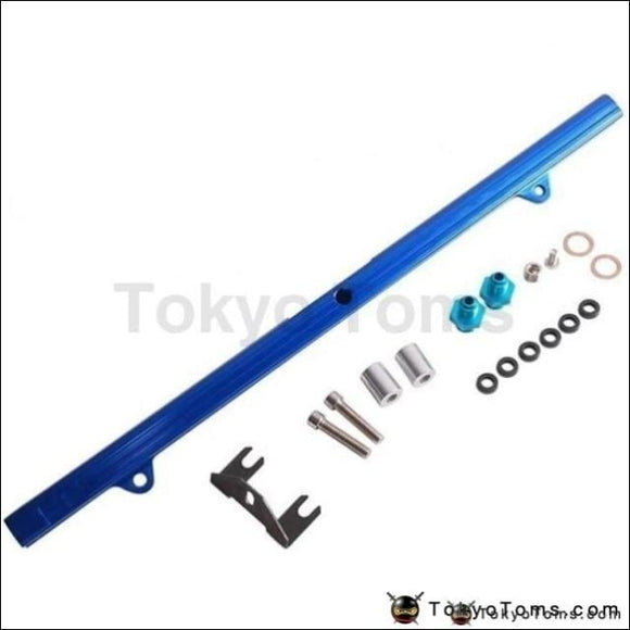 For Nissan Skyline Bnr32 R33 34Gtr R34 88-On Rb26 Aluminium Billet Top Feed Injector Fuel Rail Turbo