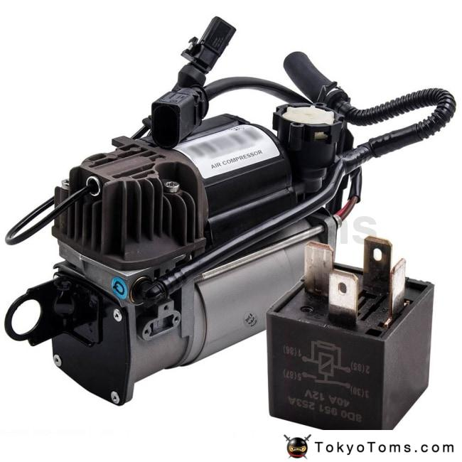 For Porsche Cayenne VW Touareg Air Suspension Compressor Pump 7L0616007B /A  /C/F For VW Volkswagen Touareg Air 7L0698007D