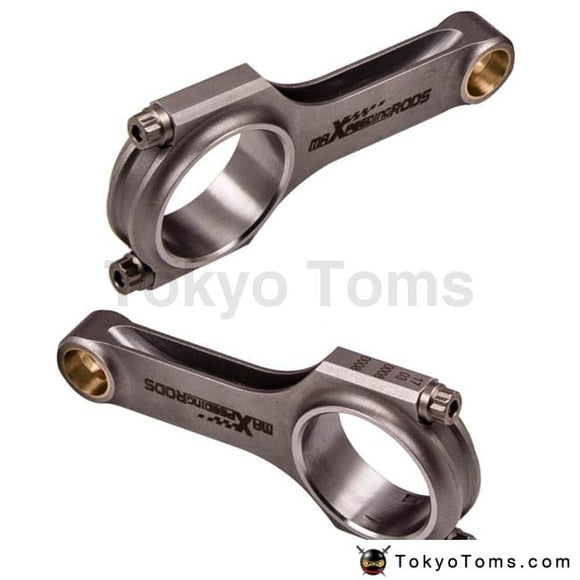 Forged 4340 Conrods Connecting Rod Rods for Fiat 500 Old Model 120mm + ARP Bolts TUV Balanced Shot Peen Cranks Floating H-Beam