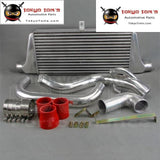 Front Mount Intercooler Kit For Nissan Silvia S14/s15 Type 24E Ls Sr20Det Red