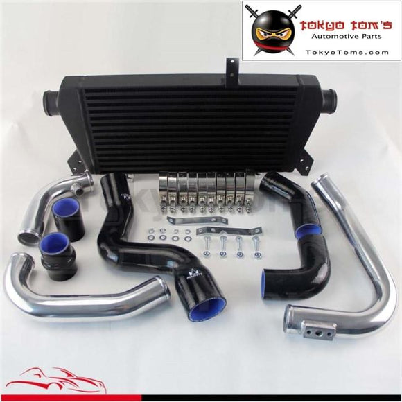 Front Mount Intercooler+Pipe Kit For Audi A4 1.8T Turbo B6 Quattro 02-06 Black / Blue /red