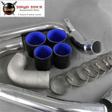 Front Mount Intercooler Pipe Piping Kit Fits For Mitsubishi Evo1 Evo2 Evo 1 2 3 Black / Blue Red