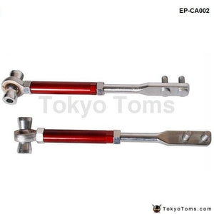 Front Pillow Ball Tension Rods For Nissan 89 - 94 S13 (Red) Suspensions