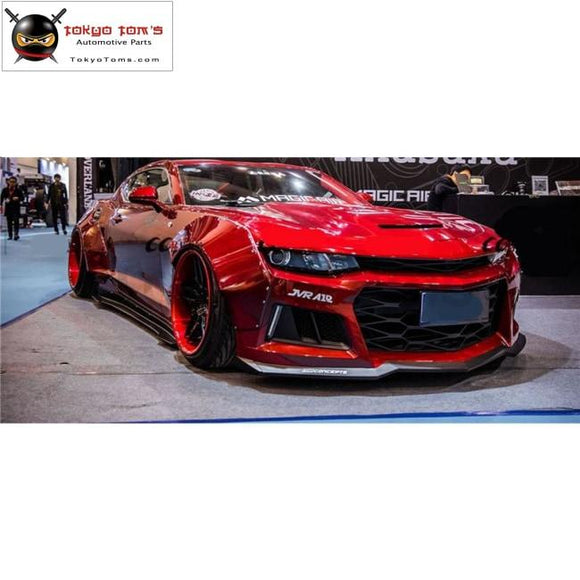 FRP Upainted Front bumper lip rear diffuser side skirts Wheel eyebrow rear spoiler for Chevrolet Camaro MB DESIGN 2017