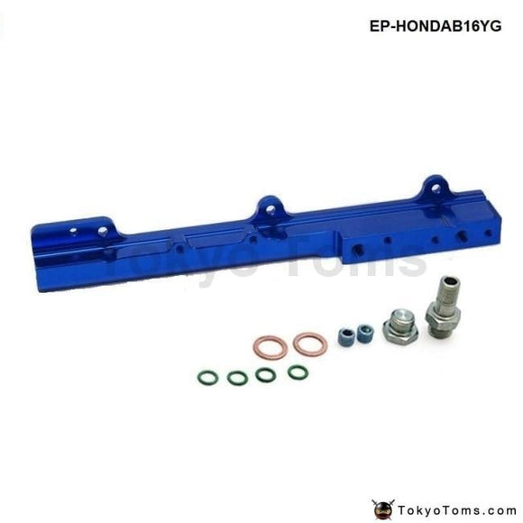 Fuel Injector Rail Blue Fit For Honda Civic Si B16A B16A1 B16A2 B16A3 Systems