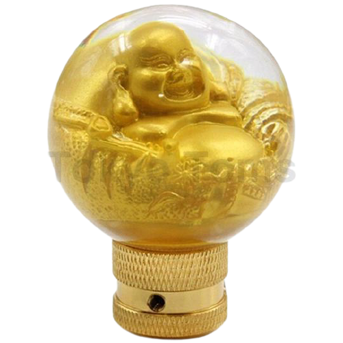 Gold Buddha Gear Shift Knob Universal
