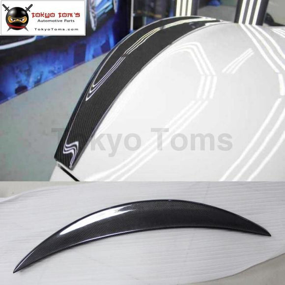 GT Carbon Fiber rear spoiler wings for Maserati GT Gran Turismo car body kit 2006-2011