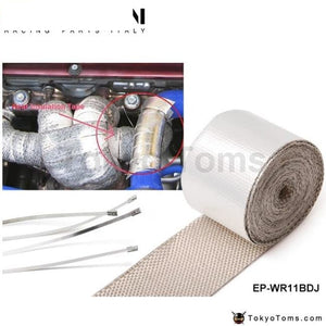 Heat Intake Reflective Insulation Wrap Tape Induction For Bmw Mini Cooper S Jcw W11 R52 R53 01-06 Bl