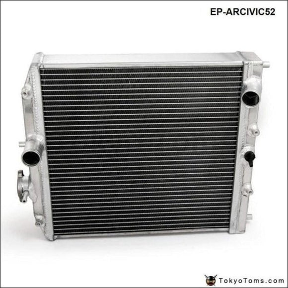 High Performance Jdm 3 Row Racing Aluminum Radiator For Honda Civic Ek Eg Del Sol Manual 52Mm