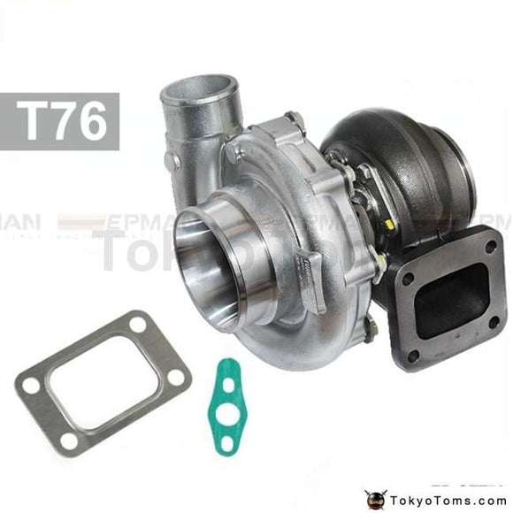 High Performance Turbocharger T76 Compressor A/r .80 Turbine Housing A/r.81 Oil 1000Hp T4 V-Band