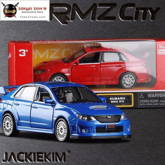 High Simulation 2011 Subaru Impreza 1:36 Scale Coupe Metal Pull Back Wrc Sti Cars 2 Open Door Model