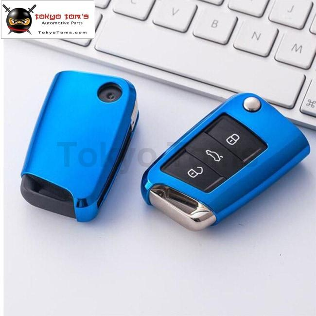 Hot Golf 7 Tpu Car Key Cover Case For Volkswagen Golf 5 Golf 6 Golf 7 Car Styling