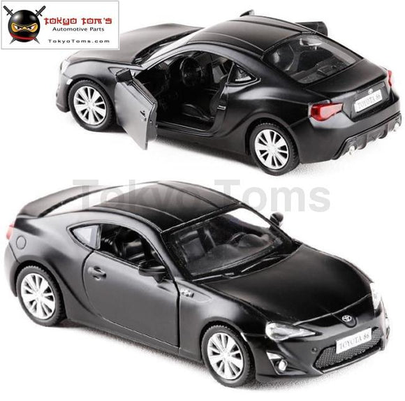 Hot Sale!1:36 High Imitation Alloy Model Car Toyota Gt86 Pull Back Metal Toy 2 Open Door Static Free