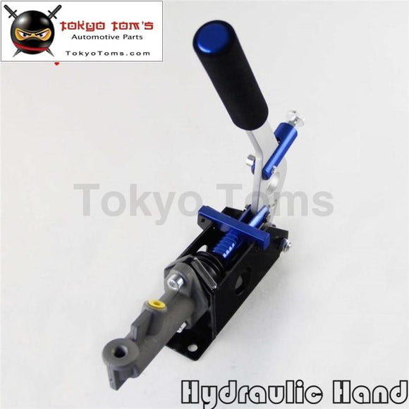 Hydraulic Hand Brake With Pump 180Sx STI EVO Rx7 Drift Horizontal Vertical Blue