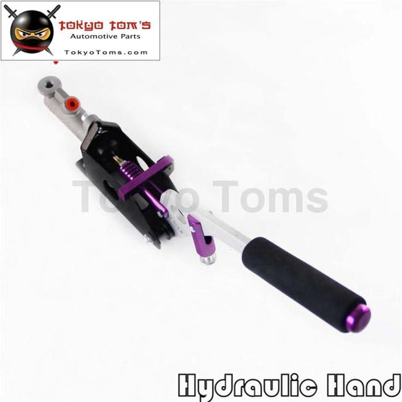 Hydraulic Hand Brake With Pump 180Sx STI EVO Rx7 Drift Horizontal Vertical Pl
