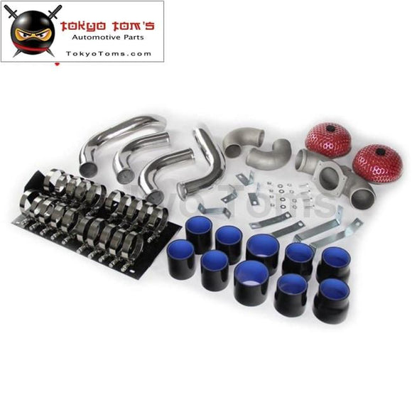 Intercooler Pipe Piping Kit Fits For Nissan 300Zx Twin Turbo Fairlady Z32 Vg30Dett Blue / Black/ Red
