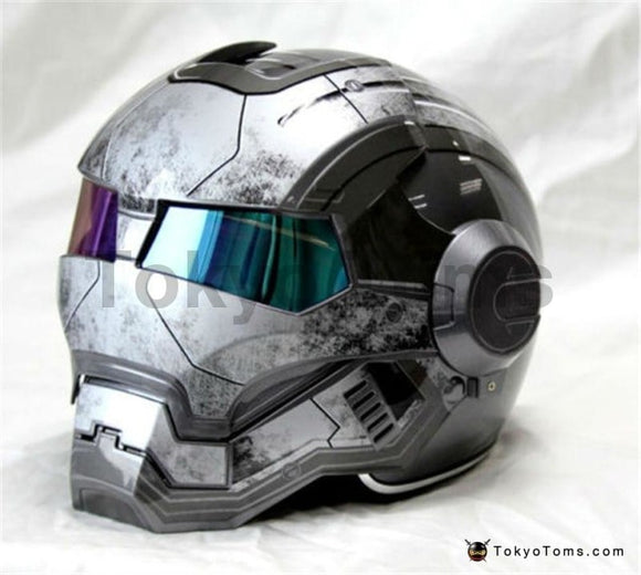 Iron Man helmet Matte Gray