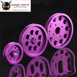 Light-Weight Crank Pulley For Nissan Skyline Gts Gtr Rb20 Rb25 Rb26 Purple