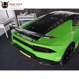 LP610 Carbon Fiber Rear Trunk Spoiler Lip Wing For Lamborghini Huracan LP610-4 REVO style 2015
