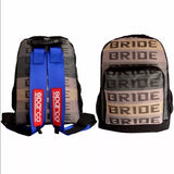 XL Bride Racing Backpack Detectable straps
