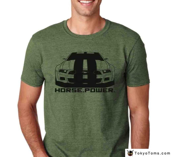 Men 2018 Classic American Car Fans Mustang Horsepower Gt T-Shirt Shelby Boss Cobra S197 Nfs 5Th