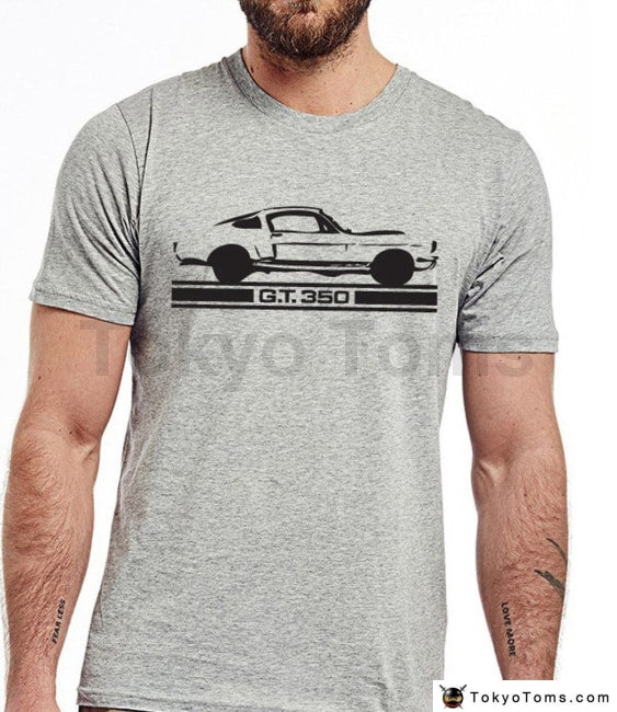 Men 2018 Summer Tees T-Shirt Classic American Car Fans Mustang Gt350 Gt500 Retro T-Shirt Shelby