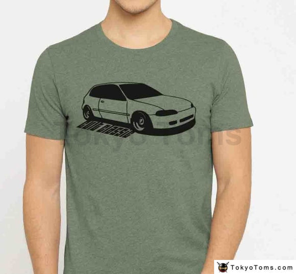 Men 2018 T-Shirt Classic Japanese Car Fans Civic Cult Classic Tuner 5Th Gen Si Vtec Eg3 Eg6 Eg5 Jdm