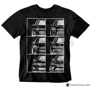 Mens T-Shirts Summer Style Fashion Swag Men Hot Sale Wrx Japanese Car Fans Generation T-Shirt