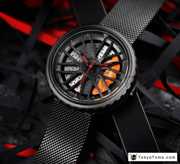 Mesh Wheel Rim Watch