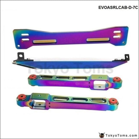 Neo Chrome Subframe Bar+ Lower Tie Rear Control Arm For Mitsubishi Proton Suspensions