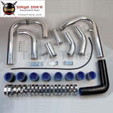 New Intercooler Piping Pipe Kit For Toyota Celica 2.0 Turbo Gt4 St185/st205 Blue / Black/ Red
