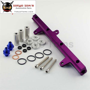 New Top Feed Injector Billet Fuel Rail Fit For 240Sx S13
