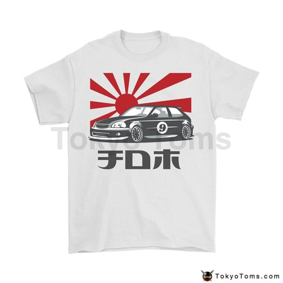 Newest 2018 Men T-Shirt Fashion Japan Car Civic Jdm Tuner Color O Neck Tee Shirt Short Sleeve