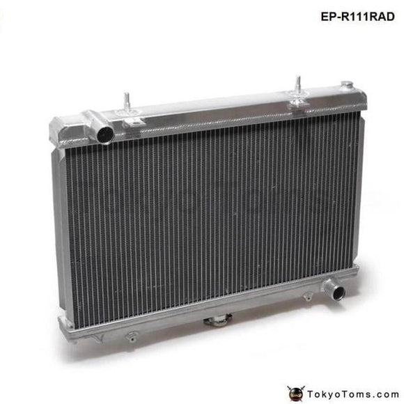 Performance 50Mm 2 Row Alloy Aluminum Radiator For Nissan Silvia S14 S15 Sr20Det 240Sx 200Sx Manual