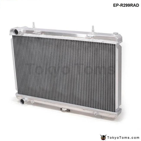 Performance 50Mm 2 Row Alloy Aluminum Radiator For Nissan Skyline R32 Rb20/25 89-93 Manual