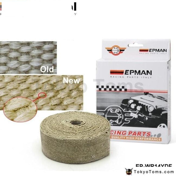 Performance Thermal Heat Manifold Exhaust System Wrap Brown 2 Wide X 10Meter Long Turbo Parts