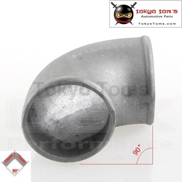 Pipe Joiner 50Mm 2 Cast Aluminum 90 Degree Elbow Turbo Intercooler Pipe Piping