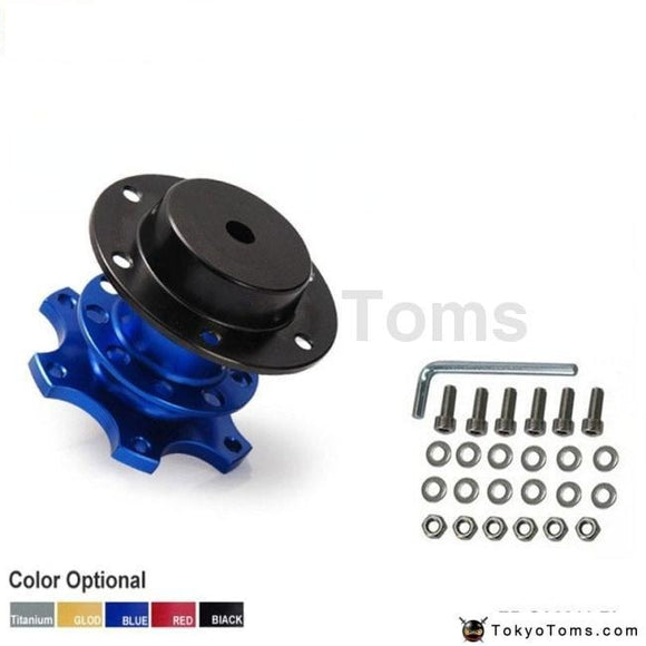 Quick Release Snap Off Hub Adapter Blue Boss Kits