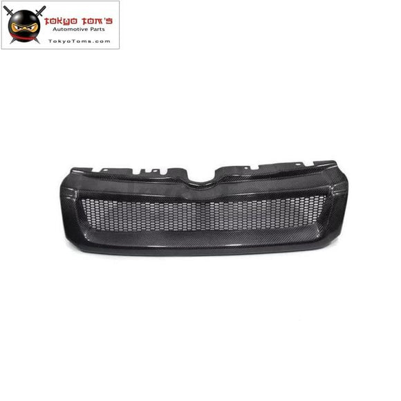 Racing grills Carbon fiber front bumper grill grille for Land Rover Range Rover Evoque 12-16