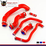 Radiator Coolant Silicone Hose + Clamps Fits For 2013-2014 Subaru Brz Fr-S Gt86 Blue / Black Red