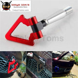 Red Aluminum Tow Hook Towing Ring For Mitsubishi Lancer Evo Ex 08-11