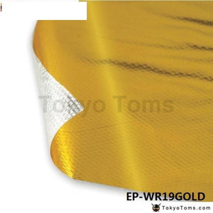 Self Adhesive Reflect-A-Gold Heat Wrap Barrier High Quality 39In.x 47In.piece For Vw Passat Audi A4