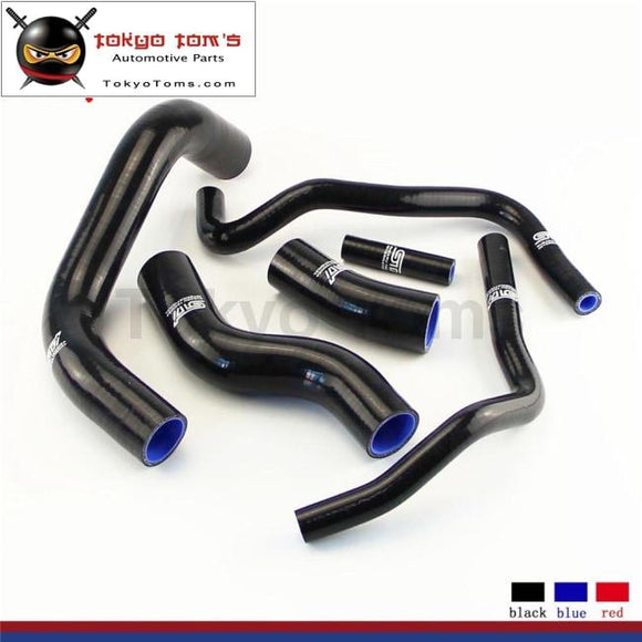 Silicone Coolant Radiator Hose Kit Fits For 2013 Scion Frs Toyota Gt86 Subaru Brz Blue / Black Red
