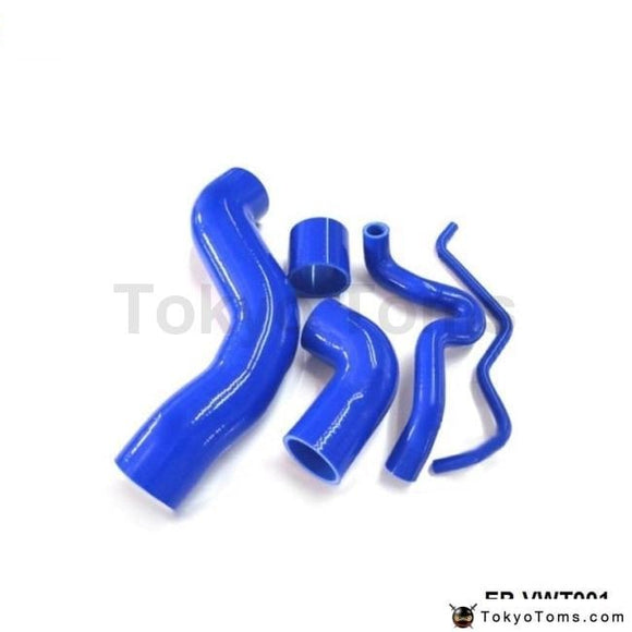 Silicone Intercooler Induction Intake Turbo Boost Hose Kit For Vw Golf Bora 1.8T/passat 1.8T (5Pcs)