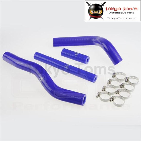 Silicone Radiator Coolant Hose +Clamps  For Suzuki Rm125 Rm 125 2001-2008 02 03 04 05 Blue